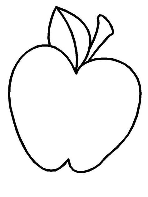 free apple coloring pages az coloring pages