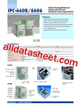 all sections of ipc ipc 6608 datasheet pdf advantech co ltd