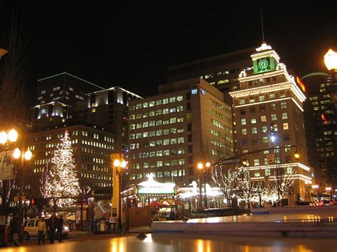 christmas tree lighting downtown portland or 23 best images about portland pioneer square on trees festivals and