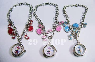 Jam Tangan Rantai Hello Pink toko aksesoris accesories in your day