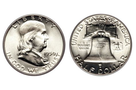 price in dollars franklin half dollar values and prices