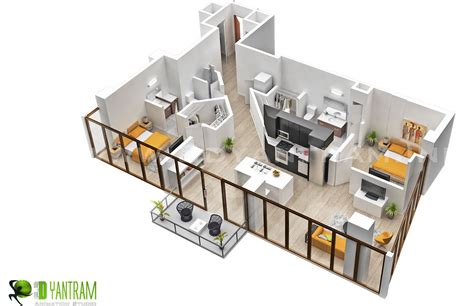 Dream Home Layouts by 3d Floor Plan Design Interactive 3d Floor Plan Yantram