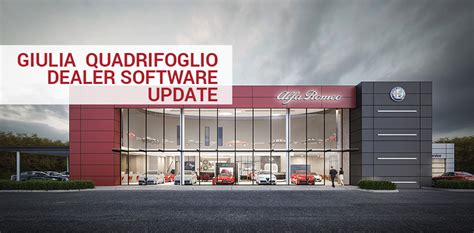 Alfa Romeo Dealership by Alfa Romeo Giulia Quadrifoglio Dealer Software Update