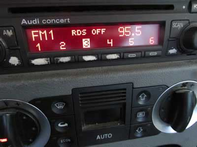 audi concert stereo audi tt mk1 8n concert 2 cd player radio stereo unit