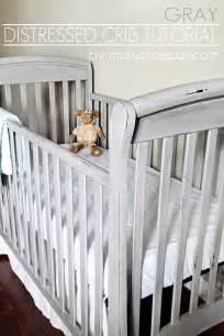 distressed crib tutorial guest post country chic paint