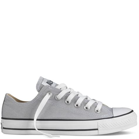 light grey converse low tops converse chuck taylor fresh colors low mirage gray