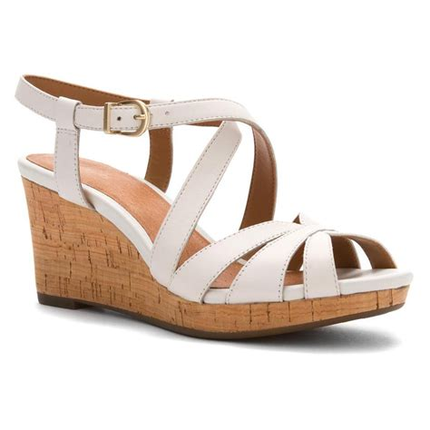 clarks white sandals clarks women s amelia avery sandals in white leather