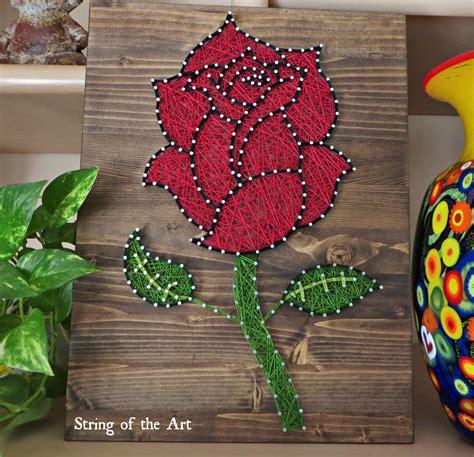 Flower String Patterns - string diy kit string flower string