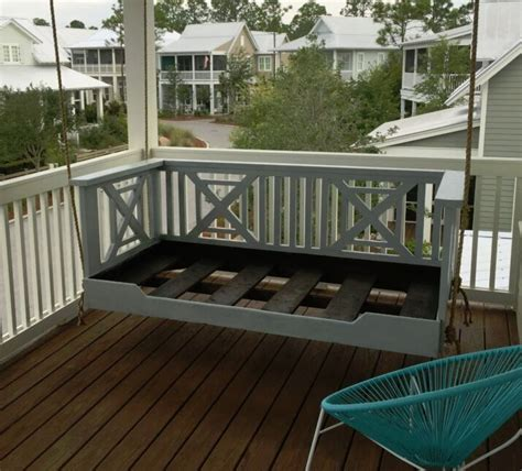 custom porch swing custom porch swing bed solid wood handcrafted porch bed
