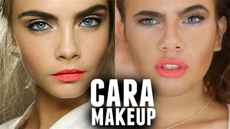 tutorial makeup dengan makeover cara delevingne makeup tutorial youtube