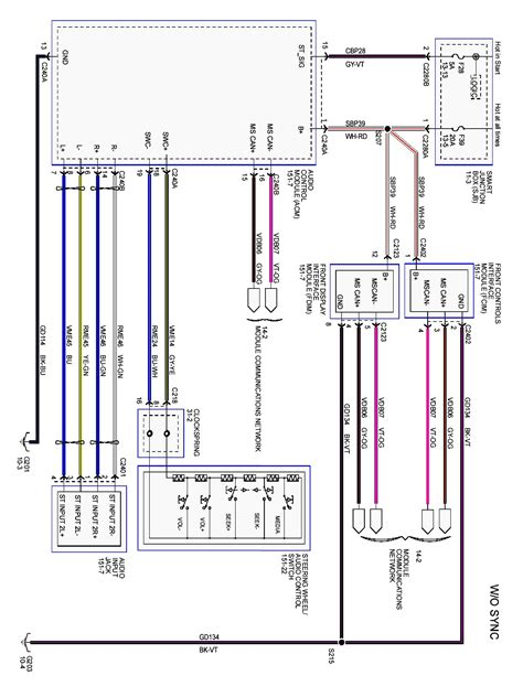 2005 ford focus wiring diagram pdf ford auto parts