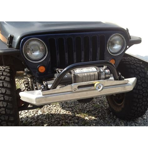 Jeep Metal Bumper Cover Fabworks Llc Winch Hoop For Jeep Wrangler