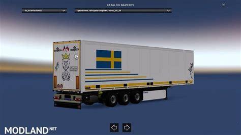 schmitz sko swedish style trailer mod  ets