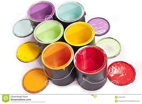 rainbow paint color diagonal stock image image 25937587