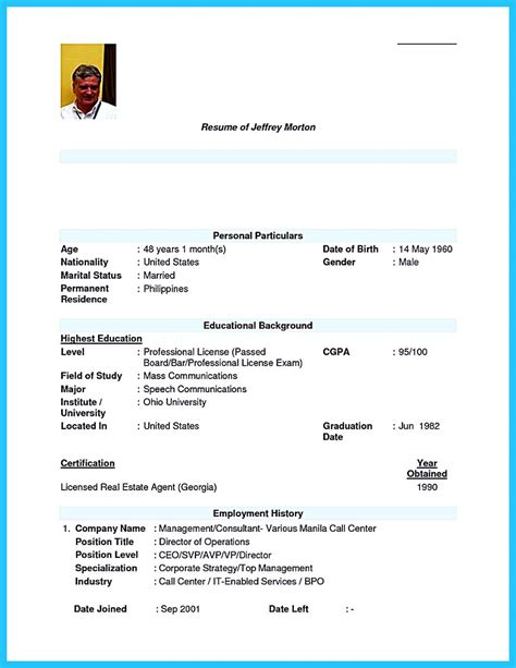simple resume sle for call center without experience impressing the recruiters with flawless call center resume