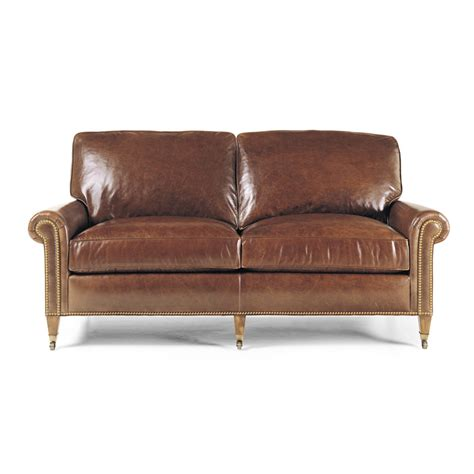 apartment size leather sofas hancock and 4152 reserve apartment size sofa