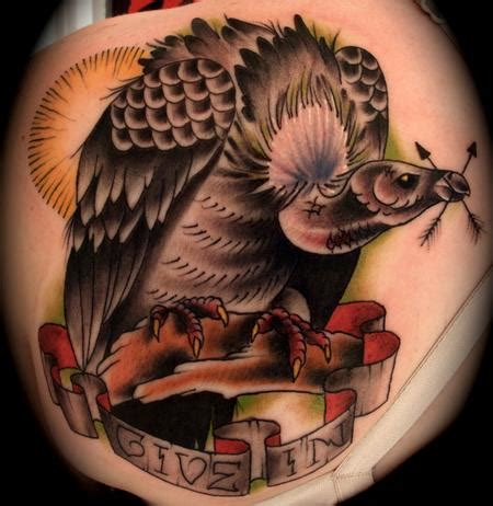 art junkies tattoo studio tattoos evil vulture