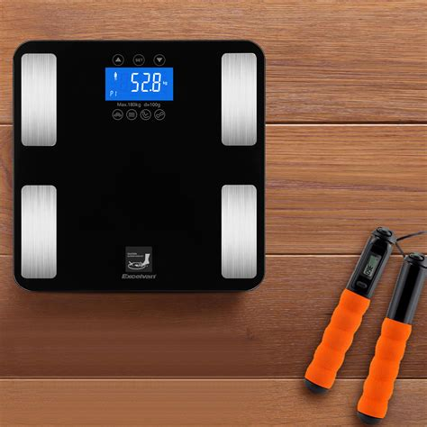 bathroom monitor touch body fat scale composition smart bmi weight muscle