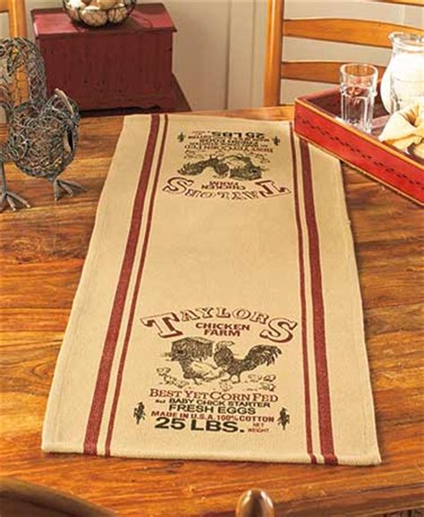 country table runners the lakeside collection