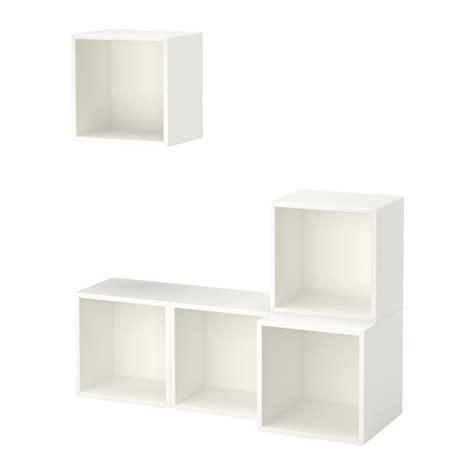Eket Wall Mounted Cabinet Combination White Ikea Ikea Wall Mount Cabinet