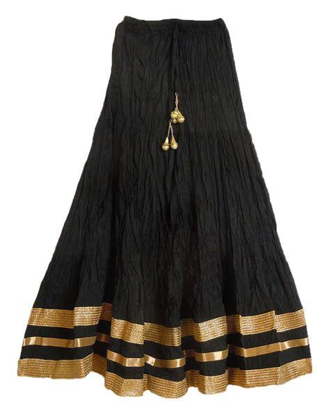 Cotton Top Skirt Black 775506 black cotton skirt