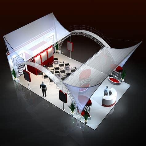 Home Design Software Free Autodesk exhibit booth design 016 3d model in 3d studio max file