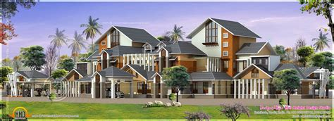 luxury house plans with pictures gigantic super luxury floor plan home kerala plans