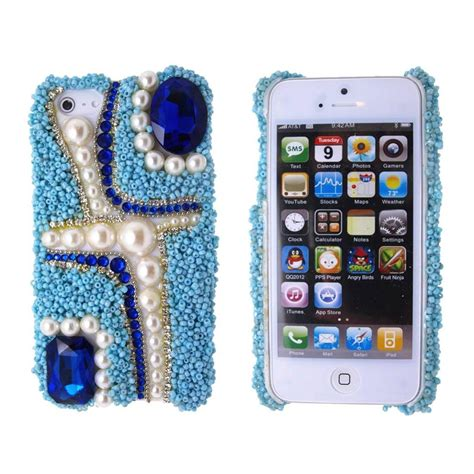 Iphone 5 Grid 3d Hardcase Casing Iphone 5 iphone 5 5s 3d bling cover for apple screen g2 ebay