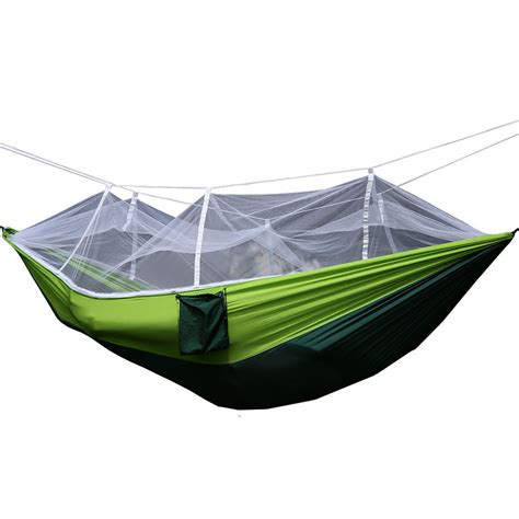 person travel outdoor cing tent hanging hammock