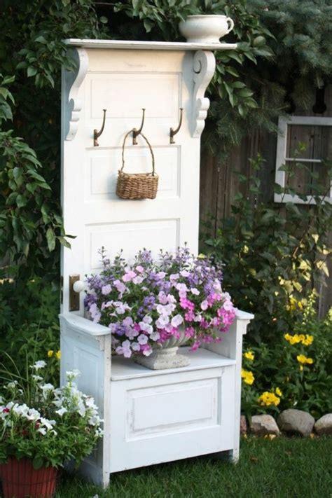 garten dekorieren mit alten sachen 1001 ideen f 252 r alte t 252 ren dekorieren deko zum erstaunen