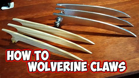 How To Make A Wolverine Claws Out Of Paper - wolverine claws how to diy