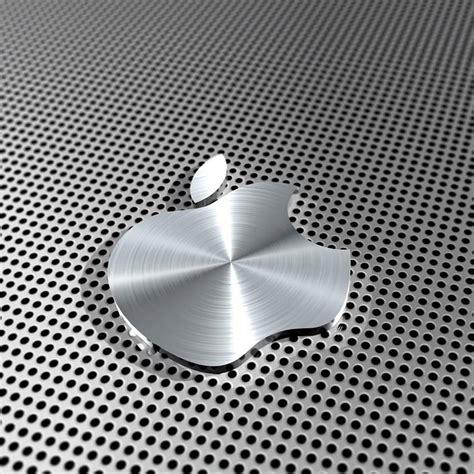 apple wallpaper ipad retina ipad retina hd wallpaper apple logo in steel ipad help