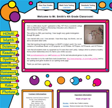 website templates for virtual classroom sle amazing classroom websites amazingclassroom com