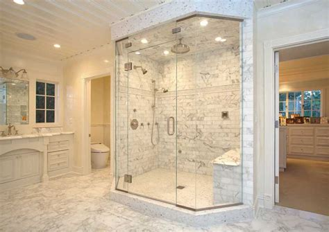 15 sleek and simple master bathroom shower ideas design