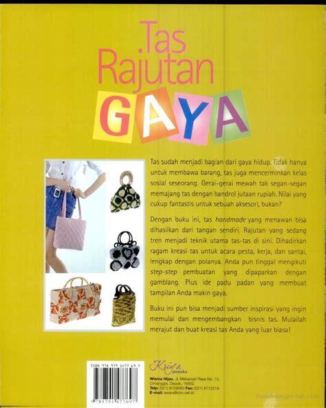 Pola Tas Rajut Behel buku tas rajutan gaya crafts