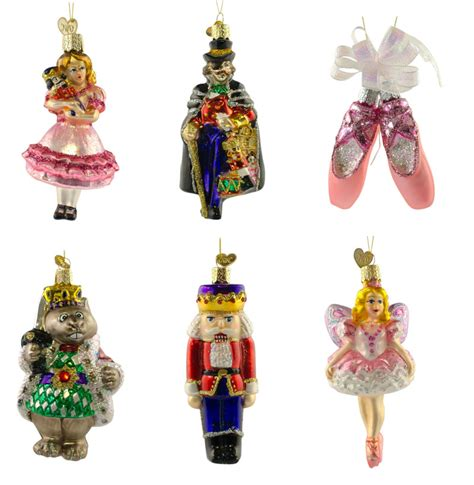 nutcracker ornaments 28 images glitter wooden