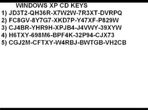 format cd key xp windows xp cd keys youtube