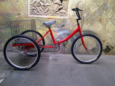 Modifikasi Vespa Gerobak by Gambar Modifikasi Sepeda Roda Tiga Dewasa Modifikasi