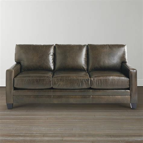 Bassett Leather Sofas Bassett 3105 72l Ladson Sofa Discount Furniture At Hickory Park Furniture Galleries