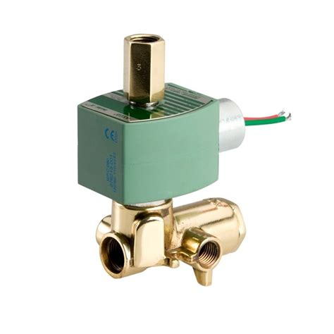 Dwyer Sbsv B5n2 Brass Solenoid Valves 2 Way Guided Nc asco 8345g001 1 4 quot 4 way solenoid valve