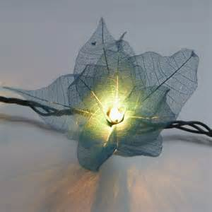 tropical string lights 9ft tropical flower lights 110v ac string lights teal