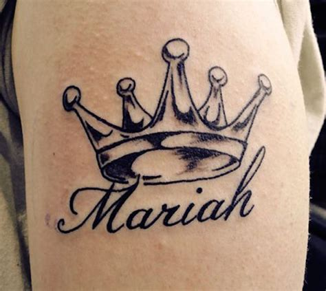 mariah tattoo 77 interesting name tattoos and brilliant name ideas