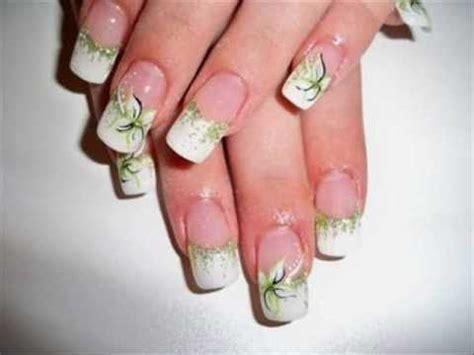 Fingern Gel Design Vorlagen Einfach nokti slike cvetni motivi