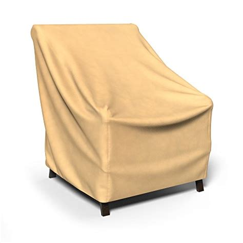 budge all seasons patio chair cover extra large tan