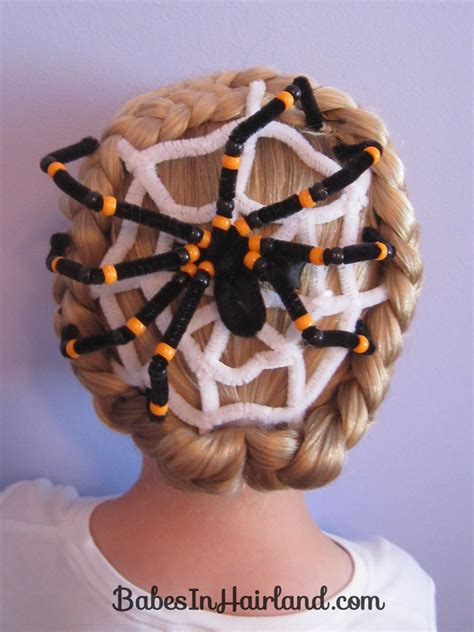 Spiderweb Hairstyle by Spiderweb Hairstyle For In Hairland