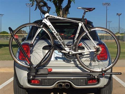 Mini Cooper Convertible Bike Rack by Mini Cooper Bike Rack Mounting System Gen3 F56