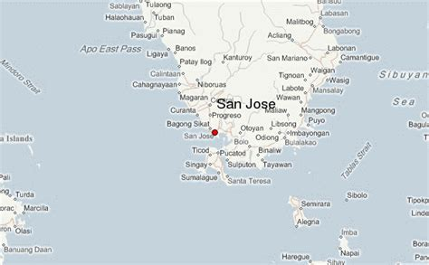 san jose location map san jose philippines location guide