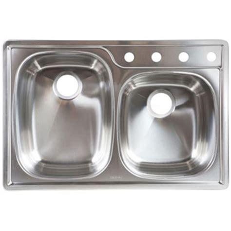 topmount kitchen sinks franke oskd954 18bx bowl topmount kitchen sink