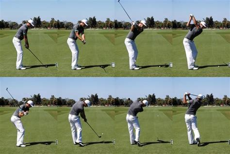 slow motion video of perfect golf swing dustin johnson golf swing golf and course