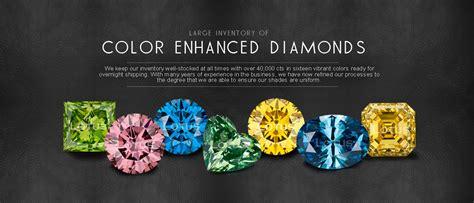 color enhanced diamonds colored diamonds color enhanced diamonds